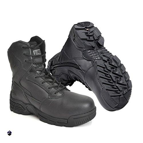 Magnum Adultes Bottes Boots S.F. 8.0 Cuir SZ CT CP Wpi (418) 44 Noir