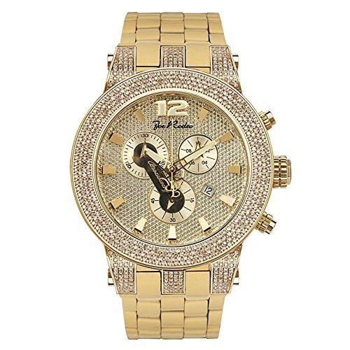 Joe de diamante reloj Rodeo para Hombre - BROADWAY 5 de quilate dorado