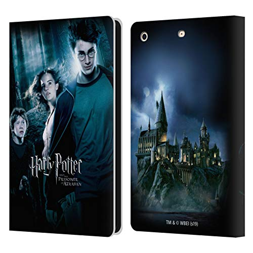 Offizielle Harry Potter Ron, Harry & Hermione Poster 2 Prisoner of Azkaban IV Leder Brieftaschen Huelle kompatibel mit iPad Mini 1 / Mini 2 / Mini 3