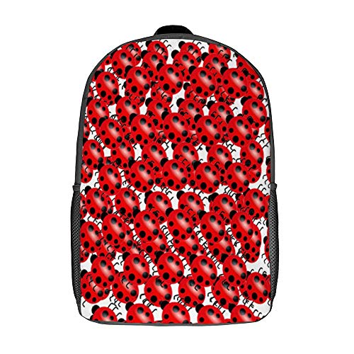 Laptop Backpack Water-Repellent Fashion School Backpack Casual Daypack for Travel/Business/College/Women/Men-Black