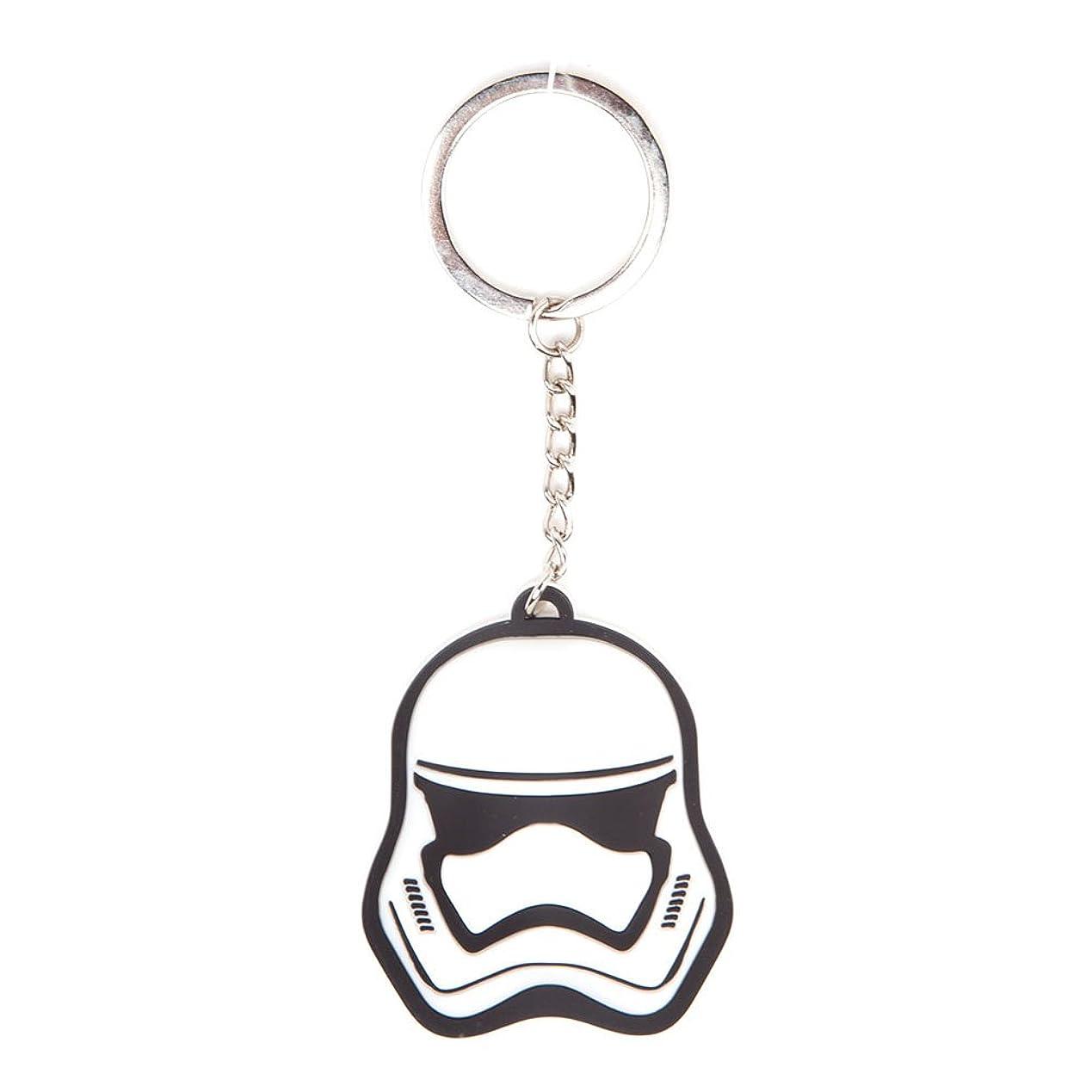 多様な置くためにパック気体のStar Wars キーホルダー Keychain Stormtrooper 新しい 公式 ホワイト Rubber