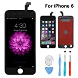 New Sign iPhone 6 4.7 Inch Screen Replacement LCD Digitizer Full Assembly Kit (iPhone 6 Black)