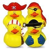 24 Stück Piraten Enten, 5 cm, Badeente, Gummiente, Mitgebsel, Kindergeburtsta...