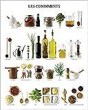 1art1 Kochkunst - Französische Gewürze Poster Kunstdruck