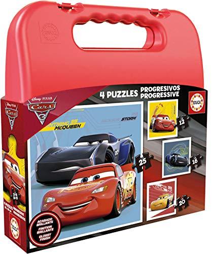 Educa borrás – 17175 – Koffer puzzels Progressive Cars 3