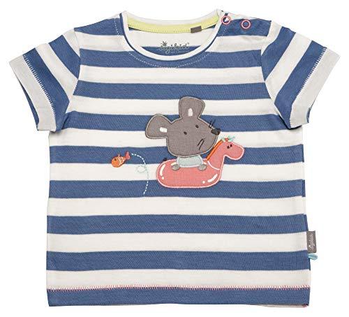 Sigikid Baby-Mädchen T-Shirt, Blau (Aquatic 565), (Herstellergröße: 62)