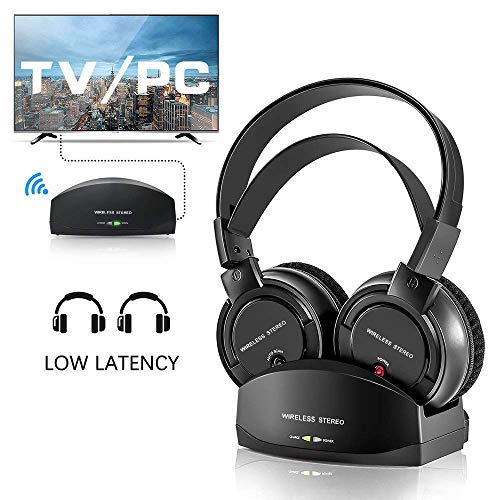 Wireless Headphones for TV with Charging Dock,Over The...