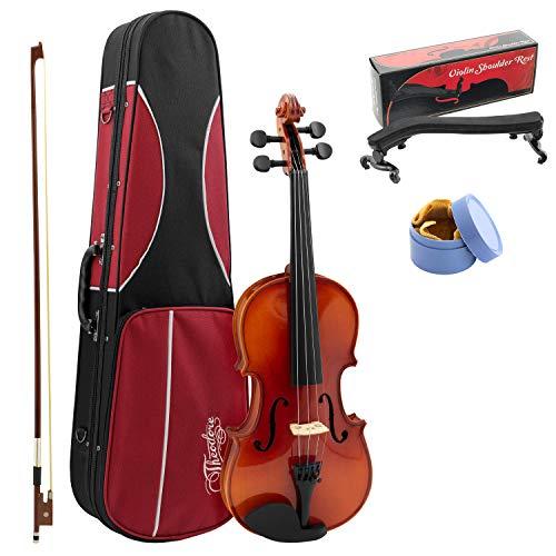 Theodore, Schüler-Violine für Anfänger, Größe 3/4, massive Fichte