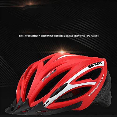 Mountainbike-paardrijhelm straatdoorlatend fiets mannelijke en vrouwelijke volwassenen helm eendelig passende hoofdbescherming
