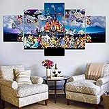 BAIOKAISHUII Moderne Leinwand Malerei Wandkunst für Home