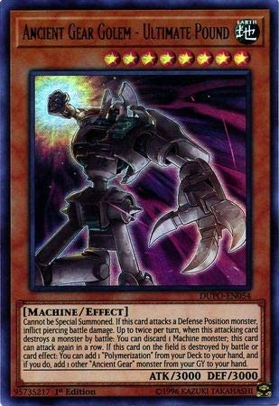 Yu-gi-oh LDS1-FR088 UR Neuf Golem Mégatonne Rouages Ancients