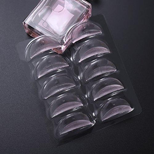 Frcolor 5 Paar Wimpern Dauerwelle Lockenwickler Pads Falsche Wimpern Patches