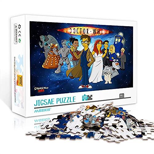 Les Simpsons 500 Pièces Puzzles Adultes Noël Thanksgiving Et Autres Cadeaux De Vacances 500 Pièces Puzzle pour Adultes Et Enfants 52 * 38Cm