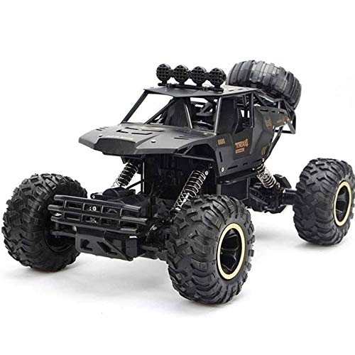 Poooc 1:14 regalos Profesional coche teledirigido cuatro ruedas camiones fuera de carretera de alta velocidad de 2, 4 GHz Racing Buggy RTR Bigfoot Monster vehículo Kids  Mejor cumpleaños de Navidad