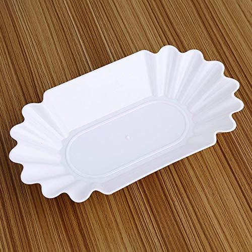 Rainai Nahrungsmittelgrad-Plastikanzeigen-Platten-Kaffee-Rohe Bohnen-Platten-Kaffee gekochte Bohnen-Platten-Kaffeebohne