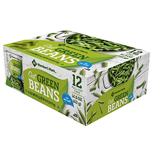 Member's Mark Green Beans 14.5 oz. can, 12 pk. (pack of 2) A1