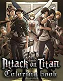 Attack On Titan Coloring Book: Manga Coloring Books For Naruto Fan. Beautiful Characters, Fight Scenes....