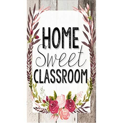 Lazodaer - Kit de pintura de diamante 5D para adultos, niños, decoración de oficina, habitación, hogar, regalo para ella, palabras cálidas de 30 x 39,9 cm