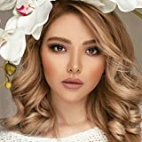 K'ryssma Ash Blonde Lace Front Wig Ombre with...