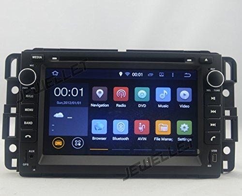 Otto Core 1024* 600HD Schermo Android 6.0auto DVD GPS Navigation per Chevrolet traverse, Express, Equinox, Avalanche