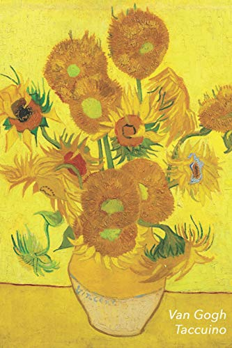 Van Gogh Taccuino: I Girasoli - Vincent van Gogh | Elegante e Pratico | Diario, 100 Pagine, a Righe