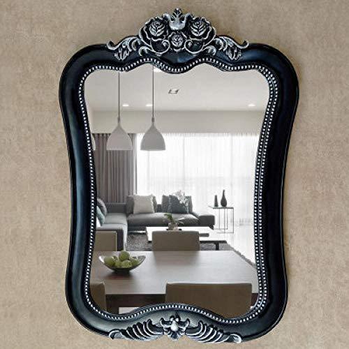 YBGW Standspiegel Groß Vintage Spezielle Dekorative Spiegel Wandbehang Badezimmerspiegel Wc Badezimmerspiegel