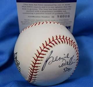 BERNIE WILLIAMS PSA DNA Coa Autograph 2000 World Series Signed Baseball