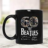 N\A Nuova Divertente Tazza Regalo 60 Anni dei Beatles 1960202 Tazza da caffè Bianca