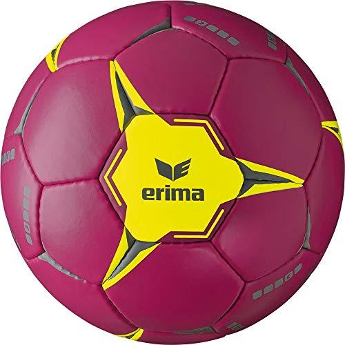 Erima Erwachsene G9 2.0 Handball, Berry/Gelb, 3