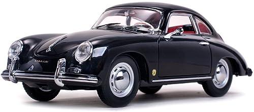 perfecto Sunstar 1328 Vehículo Miniatura Porsche 356A, 356A, 356A, 1500GS Carrera GT Escala 1 18, negro  lo último