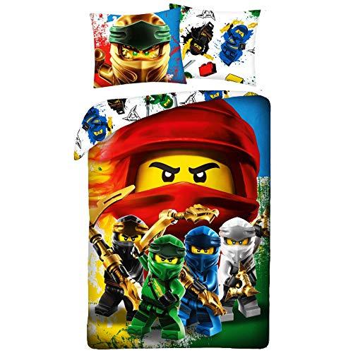Parure Copripiumino Lego Ninjago