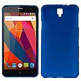 iGlobalmarket ZTE Blade L5 / L5 Plus, Funda Silicona, Suave, Ultrafina, Ajuste, Color Azul
