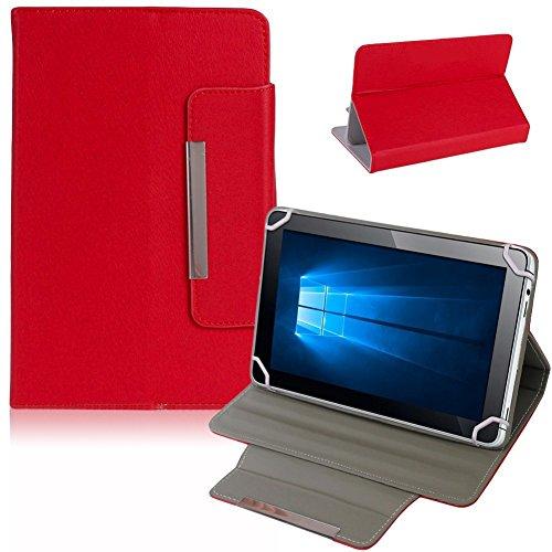 NAUC Tablet Tasche Hülle Schutzhülle für Captiva Pad 7 Case Schutz Cover Bag, Farben:Rot