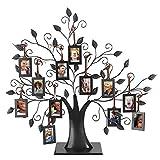 6 Colgantes / 12 Colgantes de Fotos Árbol de la Familia Árbol de Fotos Marco con diseño de árboles Colgantes Mesa Decorativa para la Foto Árbol de Fotos en Pantalla(M)