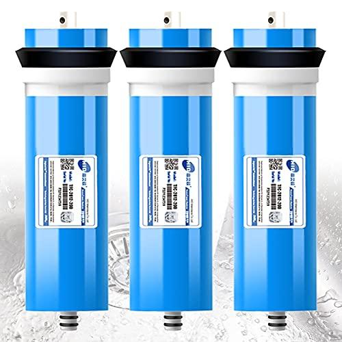 FILTER El Filtro de Agua de Membrana de ósmosis inversa de 200G para Debajo del Fregadero y el Filtro del Sistema de ósmosis inversa se Adapta a la Carcasa de Membrana 2812 Que filtra