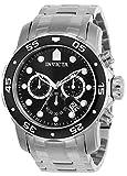 Invicta 0069 Pro Diver - Scuba Reloj para Hombre acero inoxidable Cuarzo Esfera negro