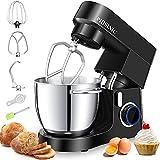 PHISINIC Impastatrice Planetaria, Robot da Cucina 6.5L 1800W, Kitchen Mixer Multifunzione,...