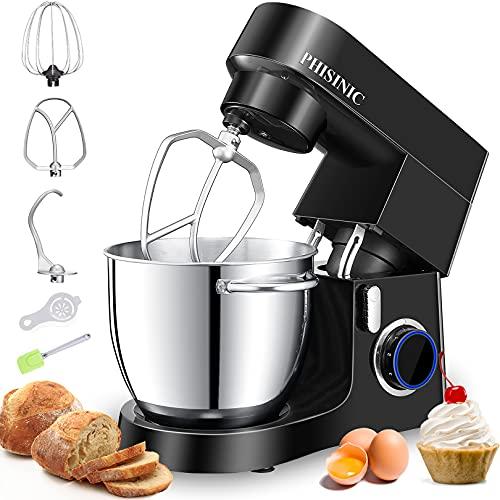 Impastatrice Planetaria, Robot da Cucina 6.5L 1800W, Kitchen Mixer Multifunzione