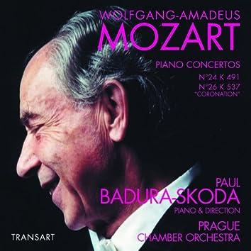 "Mozart : Concertos pour piano N°24 KV 491, N°26 KV 537 ""du Couronnement"" - Piano Concertos No. 24 K. 491, No. 26 K. 537 ""Coronation"""