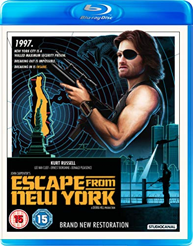 Escape From New York (2 Blu-Ray) [Edizione: Regno Unito] [Italia] [Blu-ray]