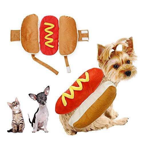- Hot Dog Pet Kostüme