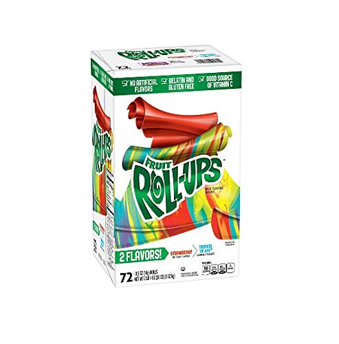 Strawberry and Tropical Tie-Dye Fruit x2 AS 72 Roll-Ups ct. Max 79% OFF Sale