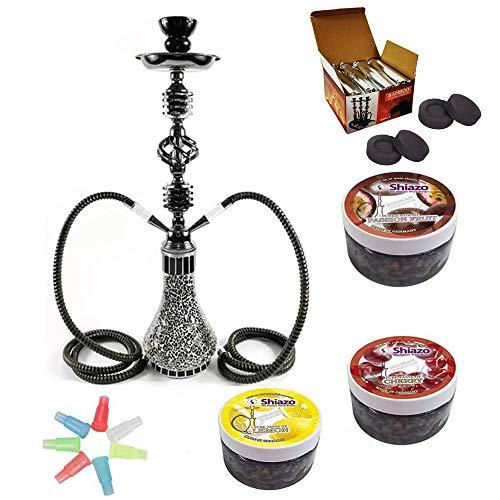 DXP 21.65' 2 Hose Shisha Hookah Party Smoking Set,with...