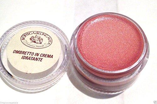 OMBRETTO IN CREMA Rosa pesca n.10 Bottega di Lungavita con ESTRATTI VEGETALI Made in ITALY