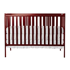Dream On Me, Synergy 5-in-1 Convertible Crib in Cherry, Greenguard Gold Certified
