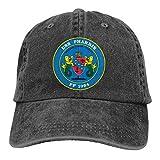 USS Pharris Ff 1094 Sandwich Cap Denim Hats Baseball Cap Adult Cowboy Hat