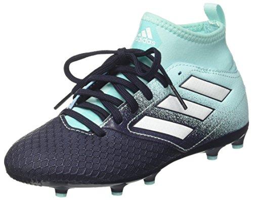 adidas Jungen Ace 17.3 Fg J Fußballschuhe, Mehrfarbig (Energy Aqua /ftwr White/legend Ink ), 36 2/3 EU