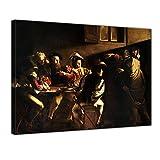 Bilderdepot24 Tela Immagine - Caravaggio - Vocazione di San...