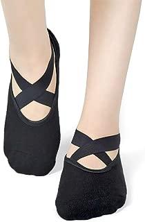 Yoga Socks for Women Non Slip Socks Ideal for Pilates, Pure Barre, Ballet, Dance, Barefoot Workout