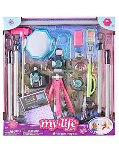My Life As Vlogger playset